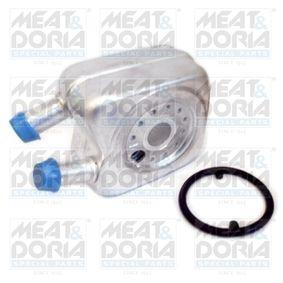 MEAT & DORIA Ölkühler, Motoröl 95001 für AUDI 80 (8C, B4) 2.8 quattro ab Baujahr 09.1991, 174 PS
