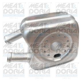 MEAT & DORIA Ölkühler, Motoröl 95003 für AUDI A3 (8P1) 1.9 TDI ab Baujahr 05.2003, 105 PS