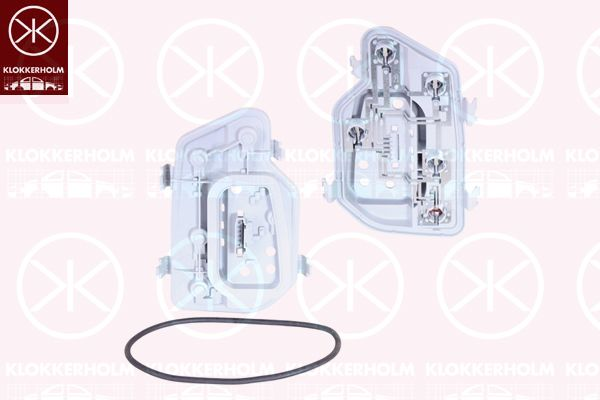 KLOKKERHOLM  95060781A1 Lampenträger, Heckleuchte