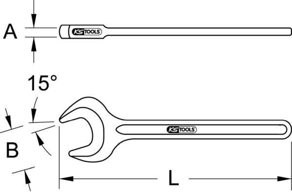 Gabelschlüssel KS TOOLS 963.7188 Bewertung