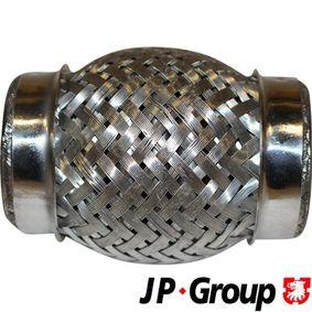 Touran 1T1, 1T2 1.9TDI Flexrohr JP GROUP 9924204500 (1.9TDI Diesel 2010 BXE)