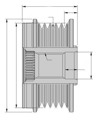 Freilauf Generator HELLA 9XU358038-841 Erfahrung