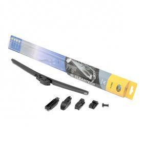 Polo 6r 1.4 (6R1) Scheibenwischer HELLA Cleantech 9XW 358 053-161 (1.4 (6R1) Benzin 2012 CGGB)