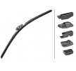 Wiper Blade 9XW358053-211 HELLA Passenger Side, Front, 530mm, Beam Left-/right-hand drive vehicles: for left-hand drive vehicles