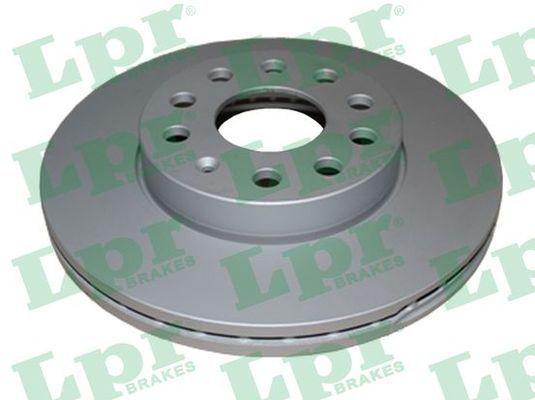 LPR  A1054V Bremsscheibe Bremsscheibendicke: 24mm, Felge: 5-loch, Ø: 276mm