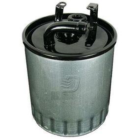 Kraftstofffilter Höhe: 127mm mit OEM-Nummer 611 092 0601