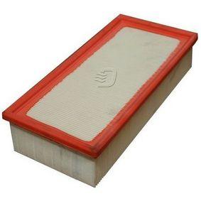 Luftfilter Länge: 312mm, Breite: 150mm, Höhe: 70mm mit OEM-Nummer 17801-0B020