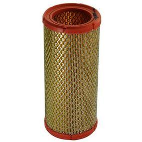 Luftfilter Länge: 106mm, Breite: 73mm, Höhe: 242mm mit OEM-Nummer 1444.F1