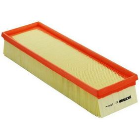 Filtro aria Lunghezza: 335mm, Largh.: 101mm, Alt.: 57mm, Lunghezza: 335mm con OEM Numero 1444-CZ
