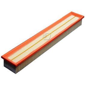 DENCKERMANN  A141265 Luftfilter Länge: 520mm, Breite: 86mm, Höhe: 58mm