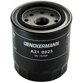Ölfilter Innendurchmesser 2: 66mm, Innendurchmesser 2: 57mm, Höhe: 93mm mit OEM-Nummer 15400 P0H 305