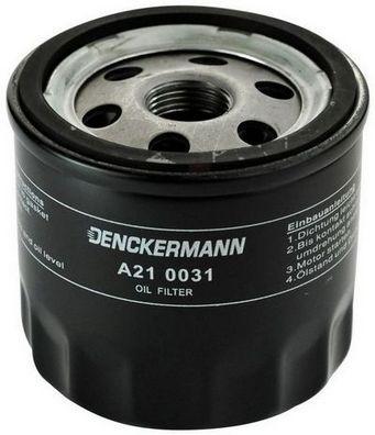 DENCKERMANN  A210031 Ölfilter Innendurchmesser 2: 71mm, Innendurchmesser 2: 62mm, Höhe: 76mm