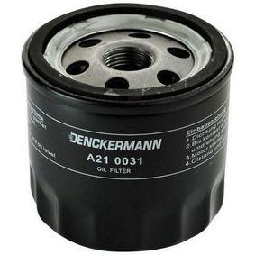 Ölfilter Innendurchmesser 2: 71mm, Innendurchmesser 2: 62mm, Höhe: 76mm mit OEM-Nummer 4105409AC