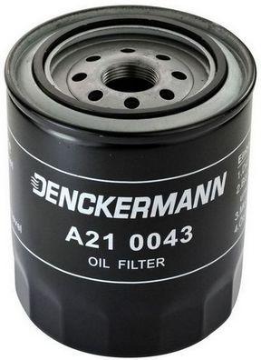DENCKERMANN  A210043 Ölfilter Höhe: 126mm