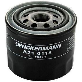 Ölfilter Innendurchmesser 2: 63mm, Innendurchmesser 2: 55mm, Höhe: 72mm mit OEM-Nummer 15208-KA011