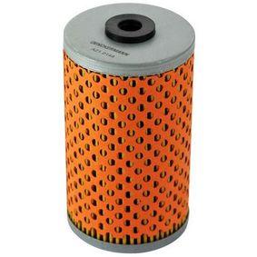 Ölfilter Innendurchmesser 2: 10mm, Innendurchmesser 2: 20mm, Höhe: 106mm mit OEM-Nummer 640 180 0009