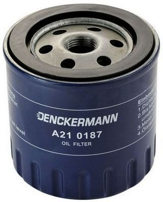 DENCKERMANN  A210187 Ölfilter Innendurchmesser 2: 81mm, Innendurchmesser 2: 63mm, Höhe: 90mm