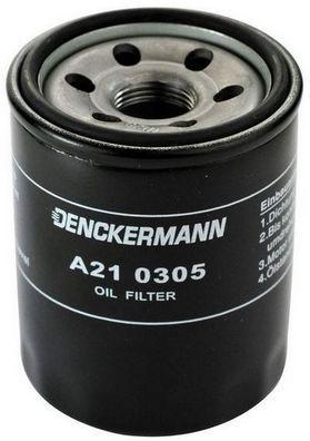 DENCKERMANN  A210305 Ölfilter Innendurchmesser 2: 63mm, Innendurchmesser 2: 56mm, Höhe: 87mm