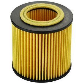 Ölfilter Innendurchmesser 2: 37mm, Innendurchmesser 2: 37mm, Höhe: 80mm mit OEM-Nummer 1142 7953 129