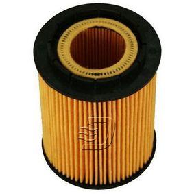 Ölfilter Innendurchmesser 2: 24mm, Innendurchmesser 2: 39mm, Höhe: 110mm mit OEM-Nummer 958.107.222.00