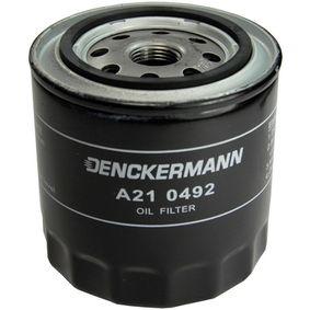 Ölfilter Innendurchmesser 2: 71mm, Innendurchmesser 2: 62mm, Höhe: 92mm mit OEM-Nummer 15208-BN300