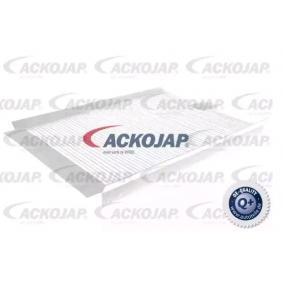Filter, interior air A26-30-0002 CIVIC 8 Hatchback (FN, FK) 1.4 (FK1) MY 2019