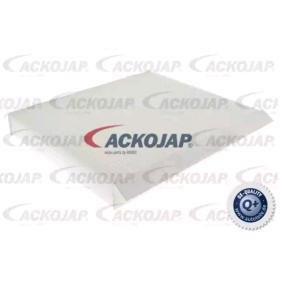 Filter, interior air A26-30-0005 CIVIC 8 Hatchback (FN, FK) 1.4 (FK1) MY 2018