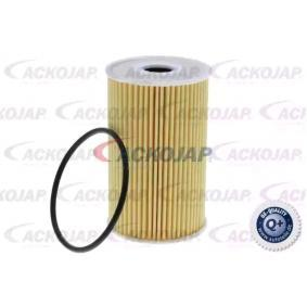 Oil Filter Ø: 65mm, Inner Diameter: 26mm, Height: 104mm with OEM Number 26320-3C-30A
