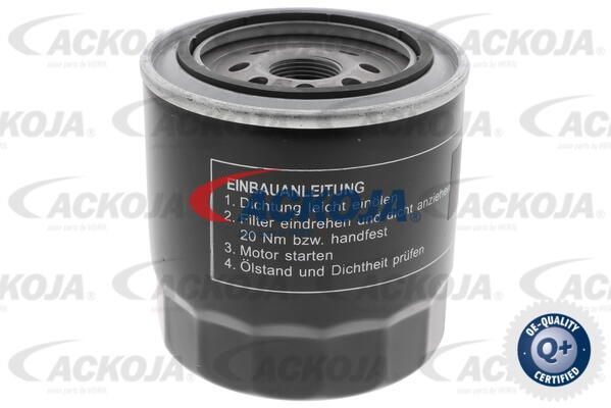 Motorölfilter A70-0502 ACKOJA A70-0502 in Original Qualität