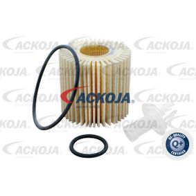 Oil Filter Ø: 68,8mm, Height: 67mm, Height 1: 63,1mm with OEM Number 04152 0V010