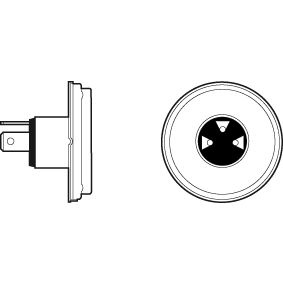 Bulb, spotlight R2 (Bilux), 45/40W, 12V 032001 FORD FIESTA, ESCORT, ORION
