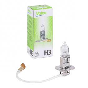 Fernscheinwerfer Glühlampe VW PASSAT Variant (3B6) 1.9 TDI 130 PS ab 11.2000 VALEO Glühlampe, Fernscheinwerfer (032005) für