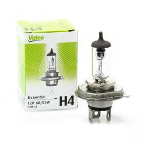 Крушка с нагреваема жичка, фар за дълги светлини H4, 60/55ват, 12волт 032007