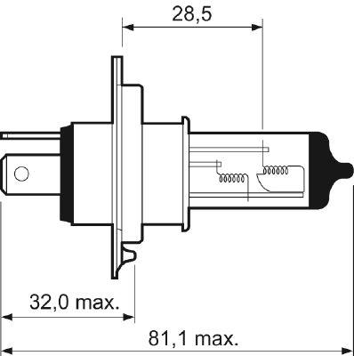 Bulb, spotlight VALEO 32511 rating