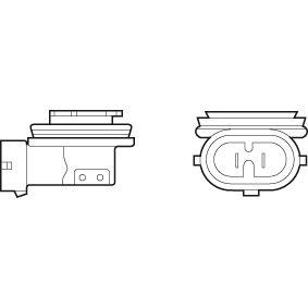 Крушка с нагреваема жичка, фар за дълги светлини H11, 55ват, 12волт 032525