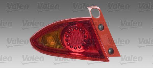 VALEO  044075 Piloto posterior para dirección izquierda/derecha
