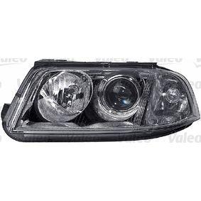 Hauptscheinwerfer für Fahrzeuge mit Leuchtweiteregelung (elektrisch), für Rechtsverkehr mit OEM-Nummer 3B0 941 015 AK