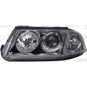 Hauptscheinwerfer für Fahrzeuge mit Leuchtweiteregelung (elektrisch), für Rechtsverkehr mit OEM-Nummer 3B0941016AN