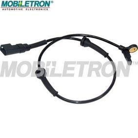 Sensor, Raddrehzahl Länge: 570mm, Pol-Anzahl: 2-polig mit OEM-Nummer 98AG 2B372-AE