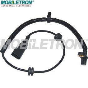 Sensor, Raddrehzahl Länge: 620mm, Pol-Anzahl: 2-polig mit OEM-Nummer 98AG2B3-72BF