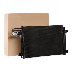 Kondensator, Klimaanlage Kältemittel: R 134a mit OEM-Nummer 1K0820411AC