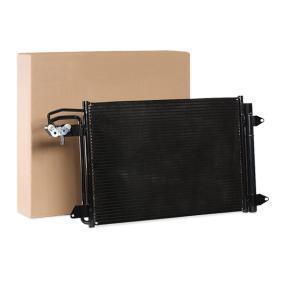 Kondensator, Klimaanlage Kältemittel: R 134a mit OEM-Nummer 1K0 820 411 Q