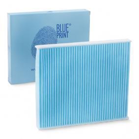 Filtro de Habitáculo BMW X5 (E70) 3.0 d de Año 02.2007 235 CV: Filtro, aire habitáculo (ADB112515) para de BLUE PRINT