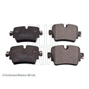 BLUE PRINT  ADJ134249 Brake Pad Set, disc brake Width: 58,3mm, Thickness 1: 16,6mm