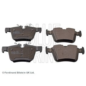 Brake Pad Set, disc brake Width: 56,1, 59,8mm, Thickness 1: 15,4mm with OEM Number LR123595