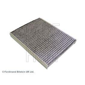 Filter, Innenraumluft Länge: 255mm, Breite: 200,0mm, Höhe: 30mm mit OEM-Nummer 6447.LN