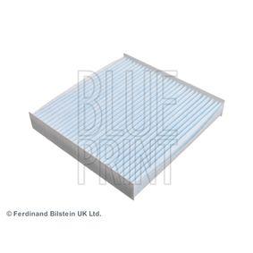 Filter, Innenraumluft Länge: 224mm, Breite: 217,0mm, Höhe: 35mm mit OEM-Nummer 6447 KR