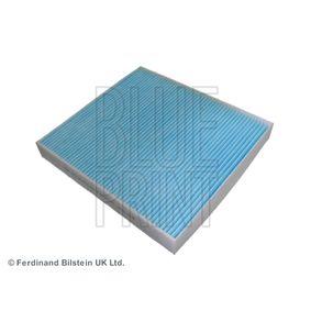 Filter, Innenraumluft Länge: 252mm, Breite: 235,0mm, Höhe: 32mm mit OEM-Nummer 5Q0 819 644 A