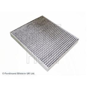 Filter, Innenraumluft Länge: 263mm, Breite: 233,0mm, Höhe: 29mm mit OEM-Nummer 9 118 699