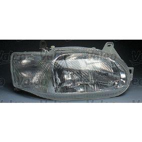 Hauptscheinwerfer für Fahrzeuge mit Leuchtweiteregelung (elektrisch), für Rechtsverkehr mit OEM-Nummer 1 076 554
